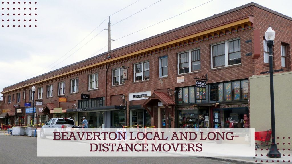 Beaverton Local and Long-distance Movers
