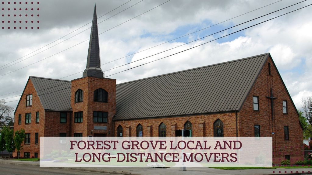Forest Grove Local and Long-distance Movers