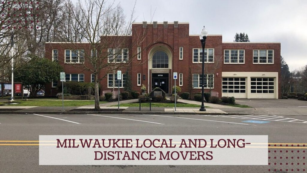 Milwaukie Local and Long-distance Movers
